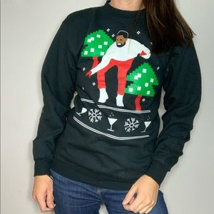 Tops - Drake Christmas Sweatshirt Ugly Christmas Sweater